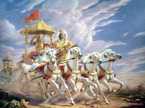 krishna, arjun, mahabharat